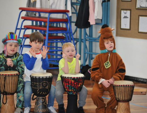 A great day drumming and dancing.